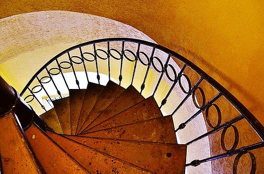 Stairway In Cabo by Joy Bradley