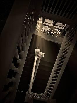 Stairway Light, Redstone Castle, Colorado by Flying Z Photography by Zayne Diamond