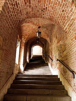 Stairway Passage by Rae Tucker