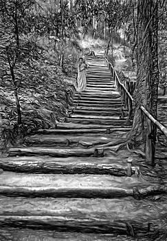 Steve Harrington - Stairway to Heaven - BW