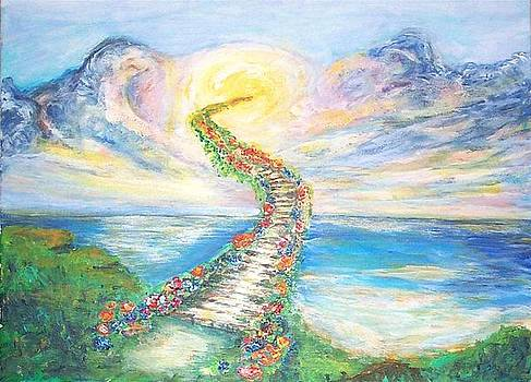 Stairway To Heaven by Mary Sedici
