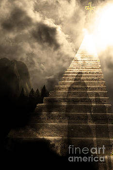 Wingsdomain Art and Photography - Stairway To Heaven v2 sepia