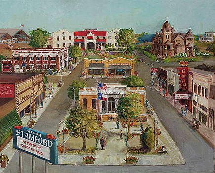 Stamford, Texas by Michal Dye