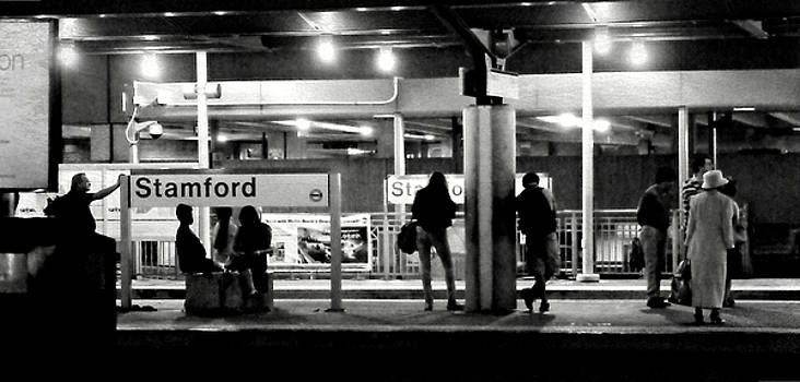 Diana Angstadt - Stamford Train Station