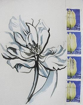 Alfred Ng - stamp art