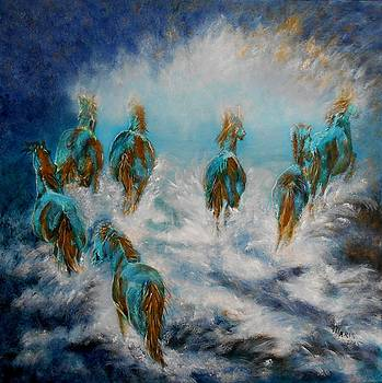 Stampede to Heaven by Maris Sherwood