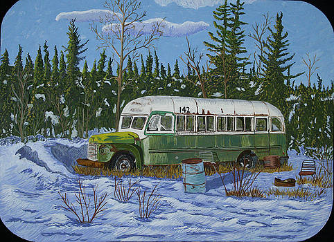 Stampede Trail Bus by Amy Reisland-Speer
