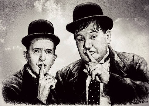 Stan and Ollie comedy duos by Andrew Read
