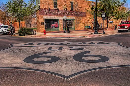 Standin on the corner by Jeff Folger
