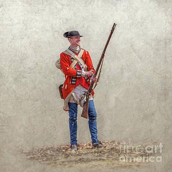 Randy Steele - Standing British Soldier