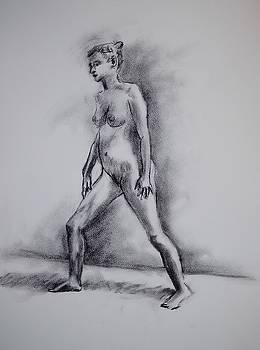 Standing Female Figure by Trace Meek