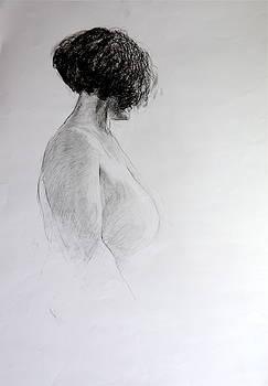 Harry Robertson - Standing Nude