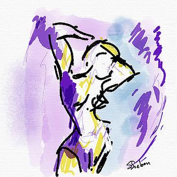 Standing Nude II by Sharon Sieben