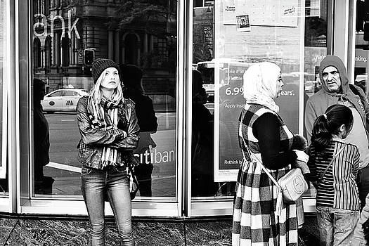 Standing on the Corner Waiting by Paul Donohoe