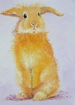 Jan Matson - Standing Rabbit - Honey
