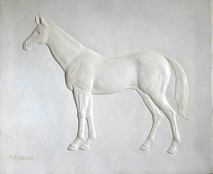 Standing Stallion by Deborah Dendler