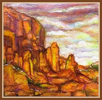 Standing Stones Landscape by Jan Wendt