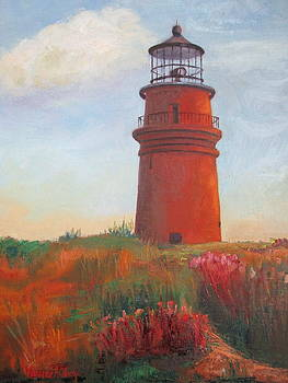 Standing Tall, Aquinah Lighthouse by Maureen Obey