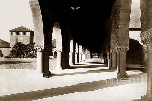 California Views Mr Pat Hathaway Archives - Stanford University corridor December 1903