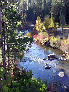 Stanislaus River in Fall by Brad Burns