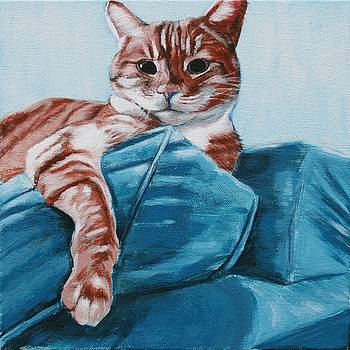 Stanley Cat by Wendy Whiteside