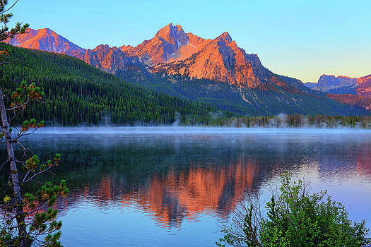 Stanley Lake Dawn by Greg Norrell