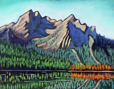 Stanley Lake by Kevin Hughes