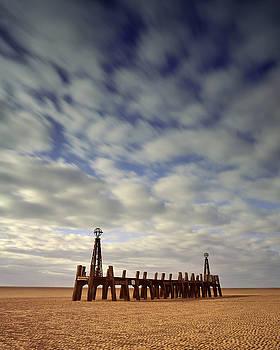 St.Annes Beach, Lancashire, England by David Stanley