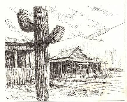 Stanton Ghost Town Arizona by Kevin Heaney