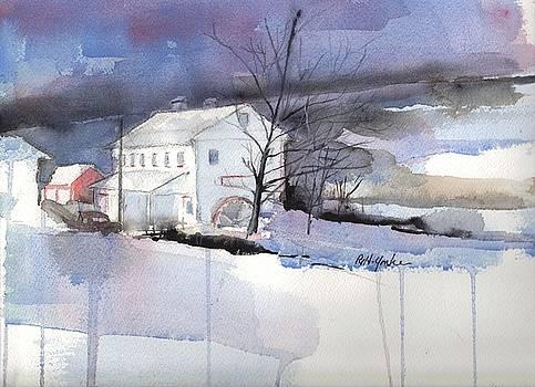 Stanton's Mill December by Robert Yonke