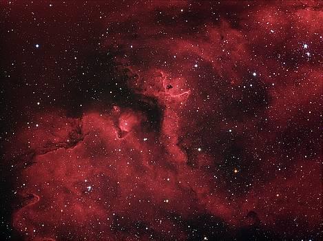Star forming region in Soul Nebula in constellation Cassiopeia by Lukasz Szczepanski