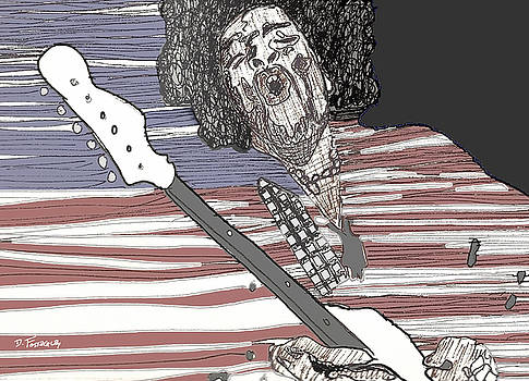 Star Spangled Banner by David Fossaceca