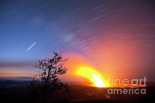 Charmian Vistaunet - Star Trails over Halema