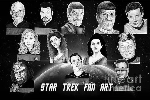 Star Trek Fan Art by Bill Richards