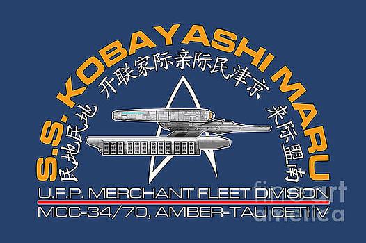 Star Trek -  Kobayashi Maru Crest by Luca Oleastri
