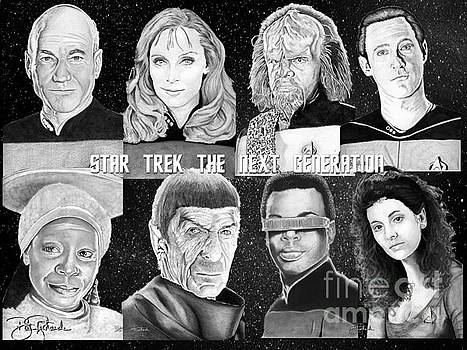 Star Trek Next Generation by Bill Richards