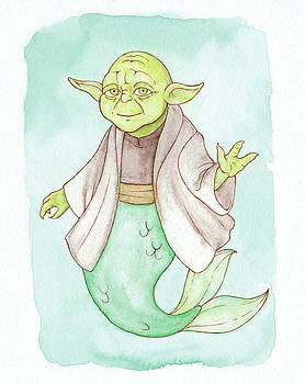 Star Wars Day - Yoda - MerMay 2018  by Armando Elizondo