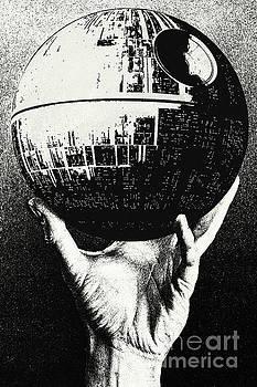 Star Wars - Escher Death Star by Luca Oleastri