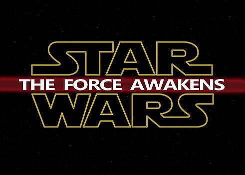 Star Wars Lightsaber The Force Awakens digital art by Georgeta Blanaru
