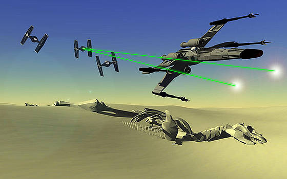 Star Wars by Michael Greenaway