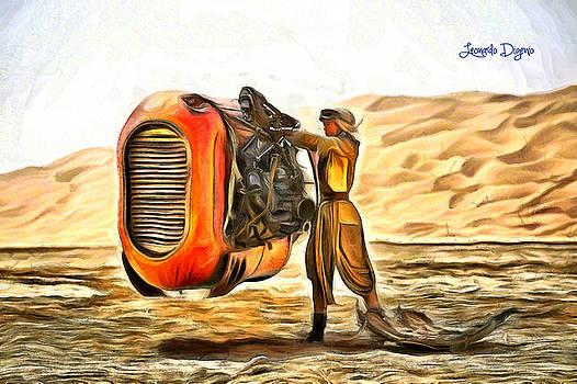 Star Wars Rey's Stuff to Sell by Leonardo Digenio