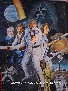 Star Wars by Sandeep Kumar Sahota