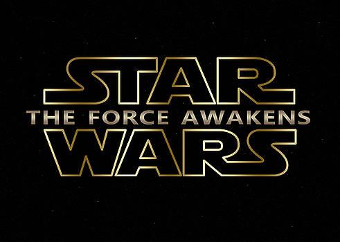 Star Wars The Force Awakens digital artwork by Georgeta Blanaru