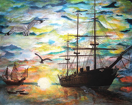 Starboard Flight by Vallee Johnson