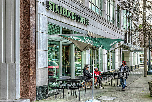 Starbucks in the City by Spencer McDonald