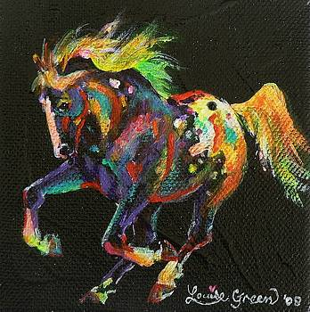 Starburst Pony by Louise Green
