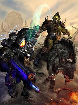 Starcraft vs Orc by Kurt Miller