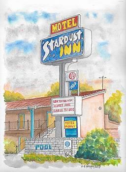 Stardust Inn Motel, Barstow, California by Carlos G Groppa