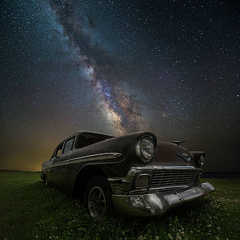 Stardust and Rust chevy by Aaron J Groen