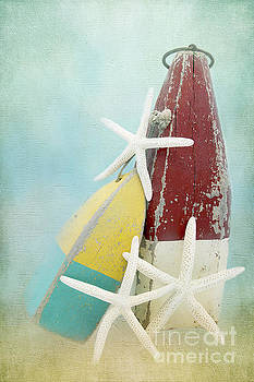 Starfish and Buoys by Cindi Ressler